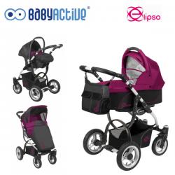 ELIPSO Baby Active dziecięcy wózek głęboko-spacerowy